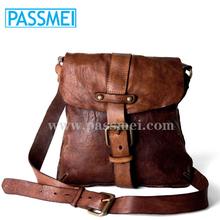 Vintage Men's genuine Italian Leather Messenger Bags