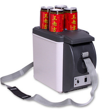 12V 6L mini portable car fridge