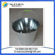 Cheap Silver Color Galvanized Metal Bucket