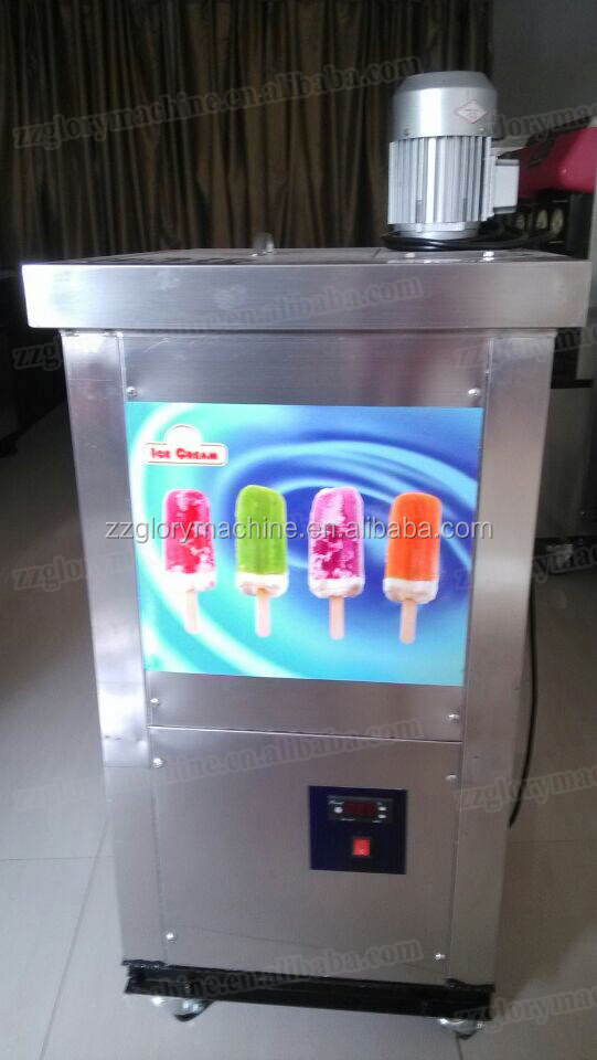double moules glace popsicle machine machine glace l 39 eau popsicle faisant la machine. Black Bedroom Furniture Sets. Home Design Ideas