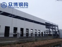 ISO certificated China industrial prefabricated steel warehouse