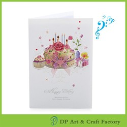 Holiday gifts handmade music greeting cards Experienced factory and Cheaper price