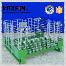 Industrial Folding Steel Storage Metal Cage