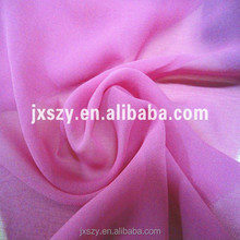 pink color dyed pure silk georgette silk fabric