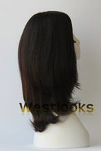Good Quality Stock Darkest Brown Skin Top jewish wigs sheital