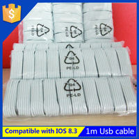 High quality super fast for iphone 5 5s 6 ipad mini high speed usb data cable