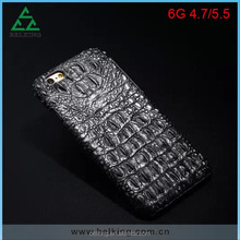 Crocodile Genuine Leather Coated Hard Back Case Cover For iPhone 6 4.7inch