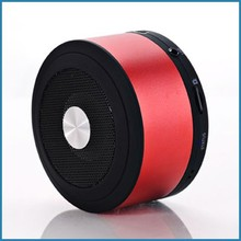 Column Shaped Aluminum Music Speaker Supportting TF Card AUX