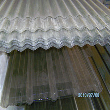 blue/green/grey/clear polycarbonate corrugated roofing sheet