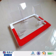 2015 Factory Price Clear Acrylic Mobile Phone Display Racks in Wholesale