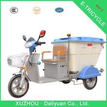 3 rodas bicicleta elétrica de 3 rodas moto de água para de lixo