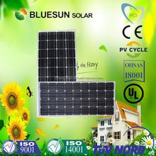 Bluesun high efficiency 25 years warranty JA cell 1 watt solar panel