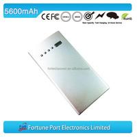 Travel 5600mAh powerbank Smartphone Chinese