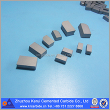 Hard metal /tungsten carbide welding tips for lathe tools