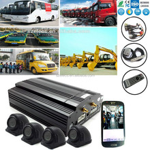 low cost GPS Security System Bus with 3G live video HDD supported 2TB max