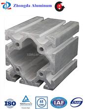 6000series T3-T8 temper aluminium extrusion industrial profiles