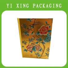 delicate high grade gift box, book shape paper gift box with light