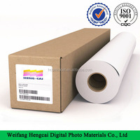5m wide format pre printed polyester canvas 600d