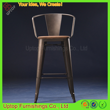(SP-MC076W) Wholesale used industrial metal bar chair for coffee shop