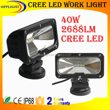 square 40w led working light motorcycle, motorcycle explorer, led motorcycle headlight bulb