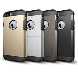 2016 New premium quality factory prices mobile phone armor cover case for iphone 5 5s 6 6 plus, for original sgp/spigen covers