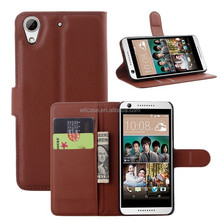 cell phone case for HTC ,leather wallet folio case for HTC desire 626