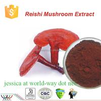 Chinese herbal medcine ganoderma lucidum extract,100% natural reishi mushroom extract powder