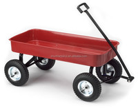 Wagon wheels and axle push&pull toys