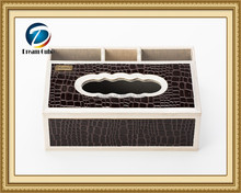 modern house accessories fashion tissue boxes for telecontroller, phone, pen