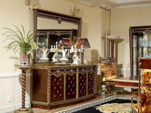 Itália projeto 0026 clássicos de madeira buffet com espelho