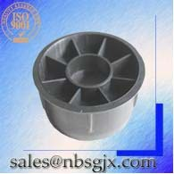 Customized china components Parts injection mould black plastic parts