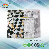 Factory Popular fine quality chess & checker for 2015
