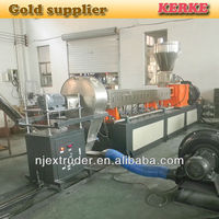 Good price pvc granule plastic extrusion machine/plastic pellet making machine extruder line