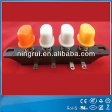 excellent quality 250V 4 position keyboard switch/key operated push button switch cUL TUV ROSH approved