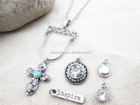 qingdao jewelry faux bijoux cross pendant necklace