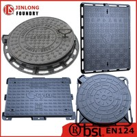 EN124 manhole cover dimensions customized factory sale