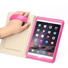 Smart cover genuine leather case for iPad mini 4