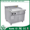 freestanding professional grill burger machine for kitchen appliances 8kw
