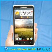 Original Lenovo A656 Smartphone Android 4.2 MTK6589 Quad Core cell phone 5.0 Inch 3G GPS mobile phones