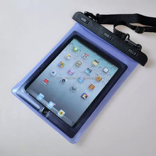 100% PVC Waterproof Protective Pouch For Ipad /Tablet PC Case 10 inch