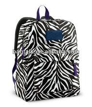 Zebra School Backpack For College Students