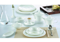 round dish white tea sets high quality party decorations birthday set