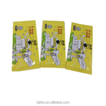 disposable single pack customized cheap wet wipes alcohol free