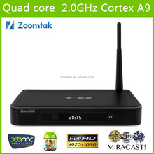 2015 Best Quad Core Android TV Box Fully Loaded XBMC Free Sports Film Movies Live TV Box Cable TV Set Top Box