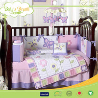 BBS039 cotton printed handmade adult dragon bedding set, bedding set with angle print