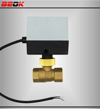 Motorized Ball Valve Dn25 Dn20 Dn15,2 Way,230v Electrical Valve.hvac And Fire Works