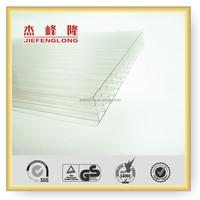 Plastic Materials Polycarbonate Hollow Sheet Rolling Not Break Sheet