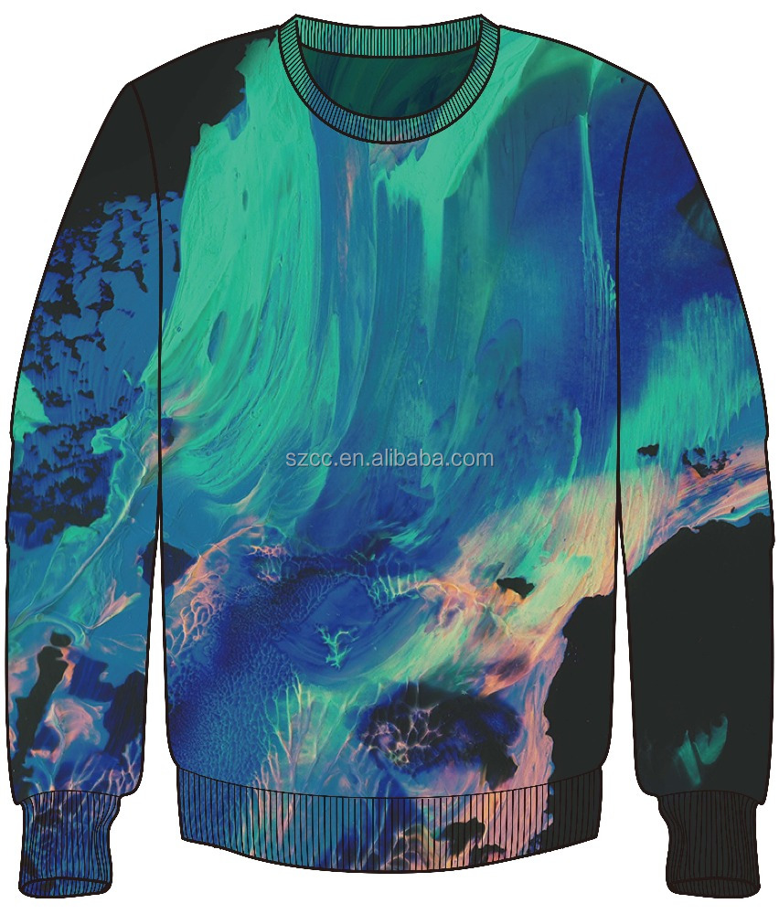Cheap custom sweatshirt dye sublimation sweatshirts for Custom shirts and hoodies cheap
