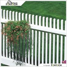 Cheap PVC Plastic Vinyl Fence Pieces For Garden
