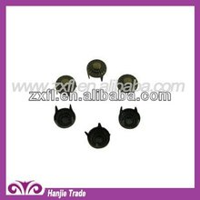 Bulk Round Dome Clothing Stud with Prong Nailhead for Fabric